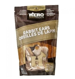 HERO HERO Dehydrated Rabbit Ears 65g