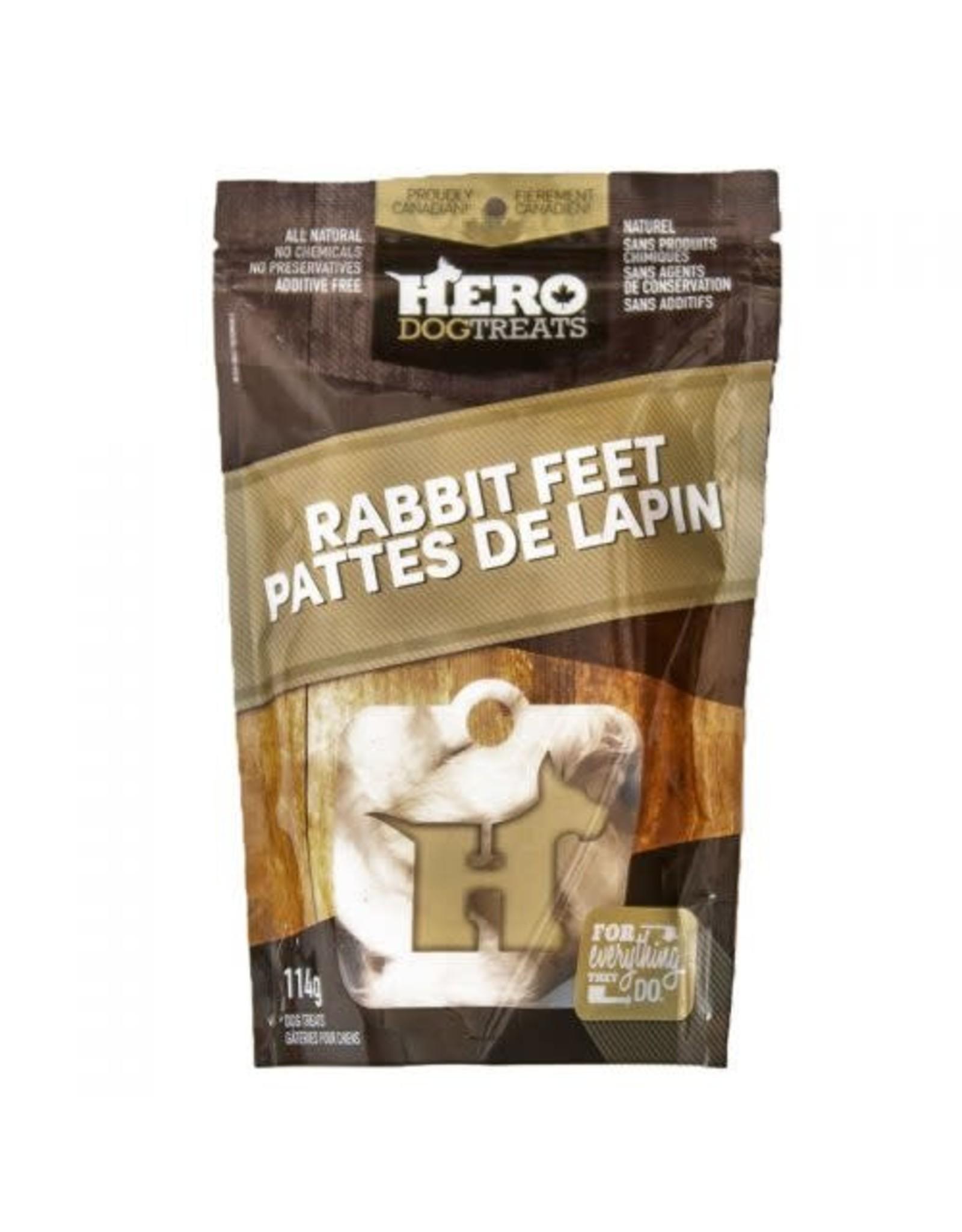 HERO HERO Dehydrated Rabbit Feet 114g