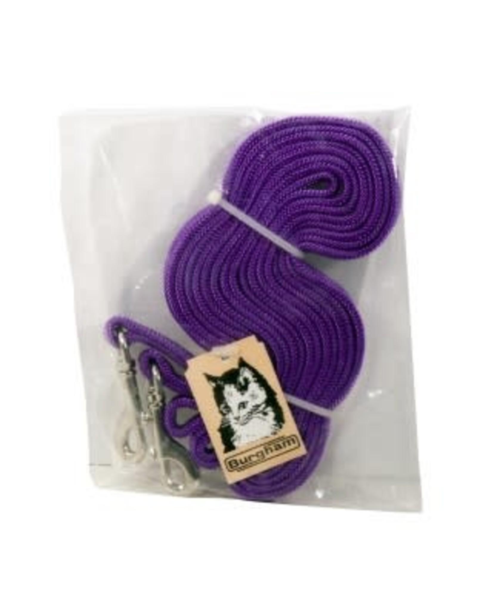 Burgham BURG Nylon Cat TieOut 10' Purple