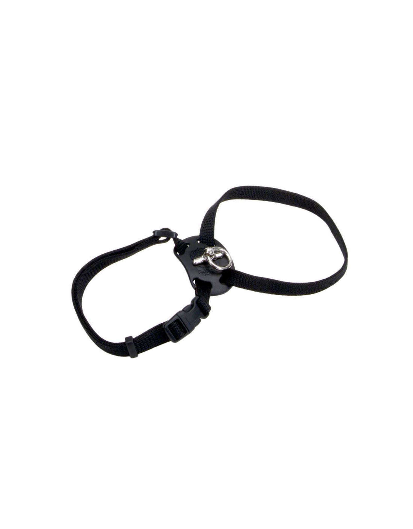 """Coastal Coastal Cat Nylon Harness 12-18"""" Black"""