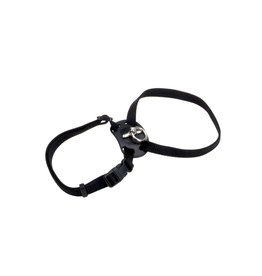 "Coastal Coastal Cat Nylon Harness 12-18"" Black"