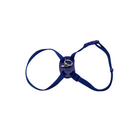 "Coastal Coastal Cat Nylon Harness 12-18"" Blue"