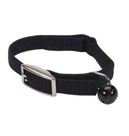 "Coastal Coastal Cat Safety Collar - 10"" Black"
