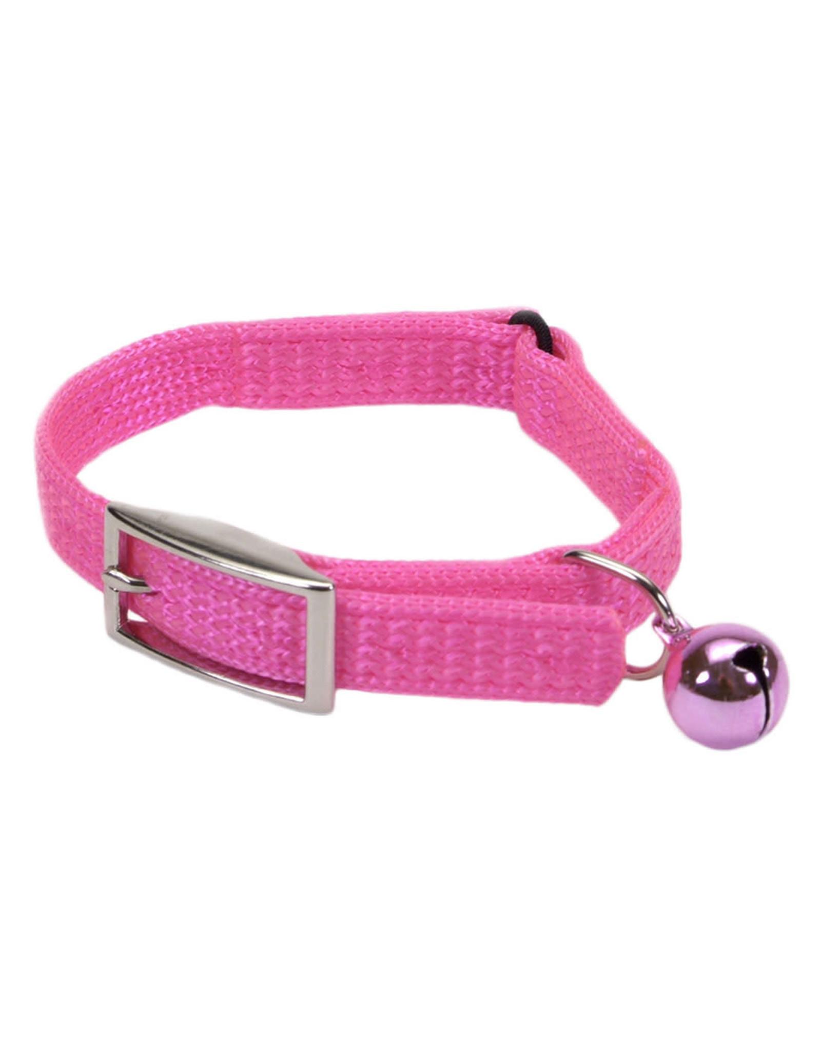 "Coastal Coastal Cat Safety Collar - 12"" Bright Pink"