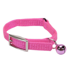 "Coastal Coastal Cat Safety Collar - 12"" Bright Pink"