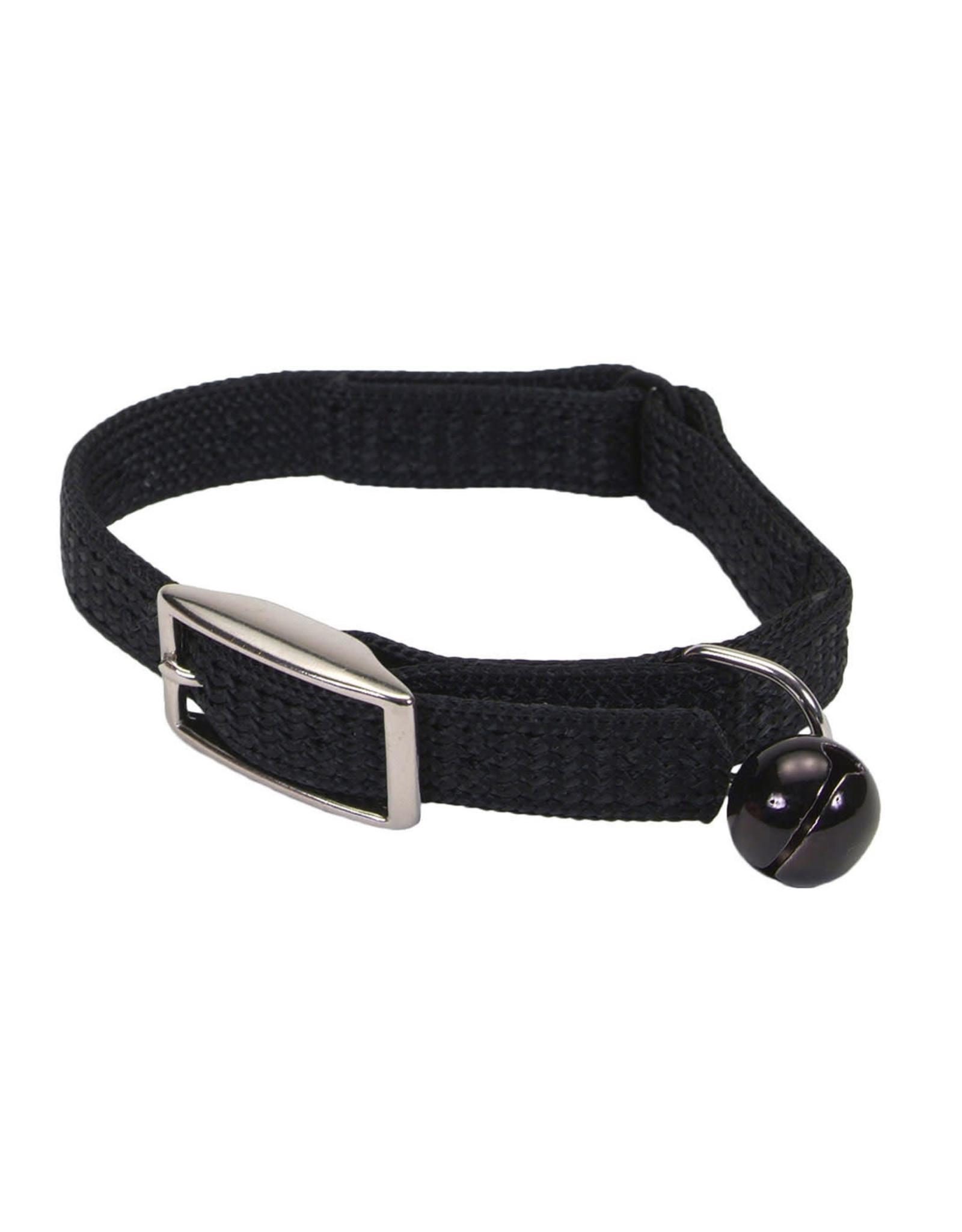 "Coastal Coastal Cat Safety Collar - 8"" Black"