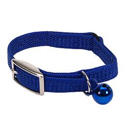 "Coastal Coastal Cat Safety Collar - 8"" Blue"