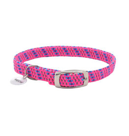 "Coastal Coastal Elasta Cat Reflective/Stretch Collar - 10 "" Pink"