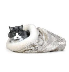 K&H K&H Kitty Crinkle Sack - Tan