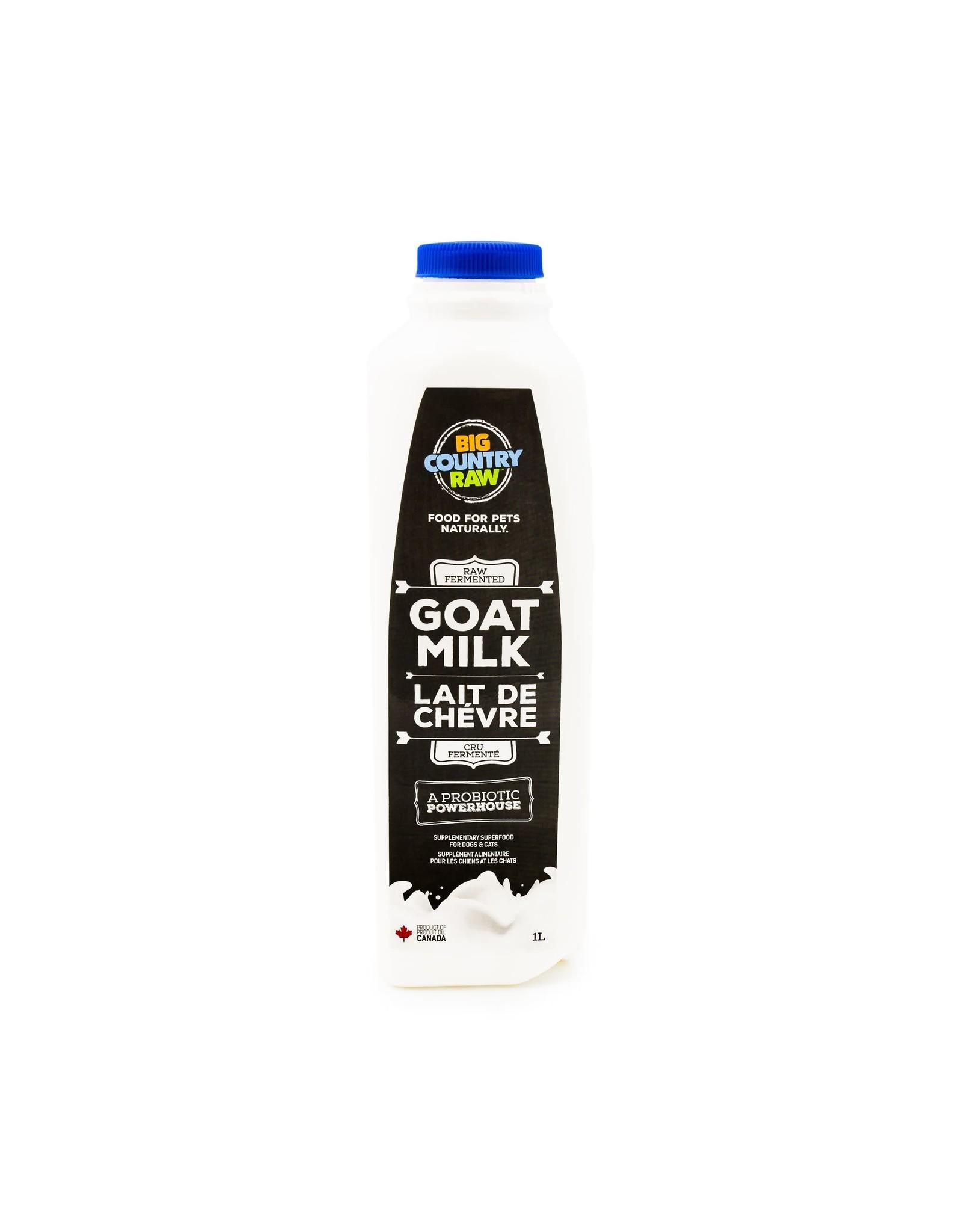 Big Country Raw BCR Raw Goat Milk 1L
