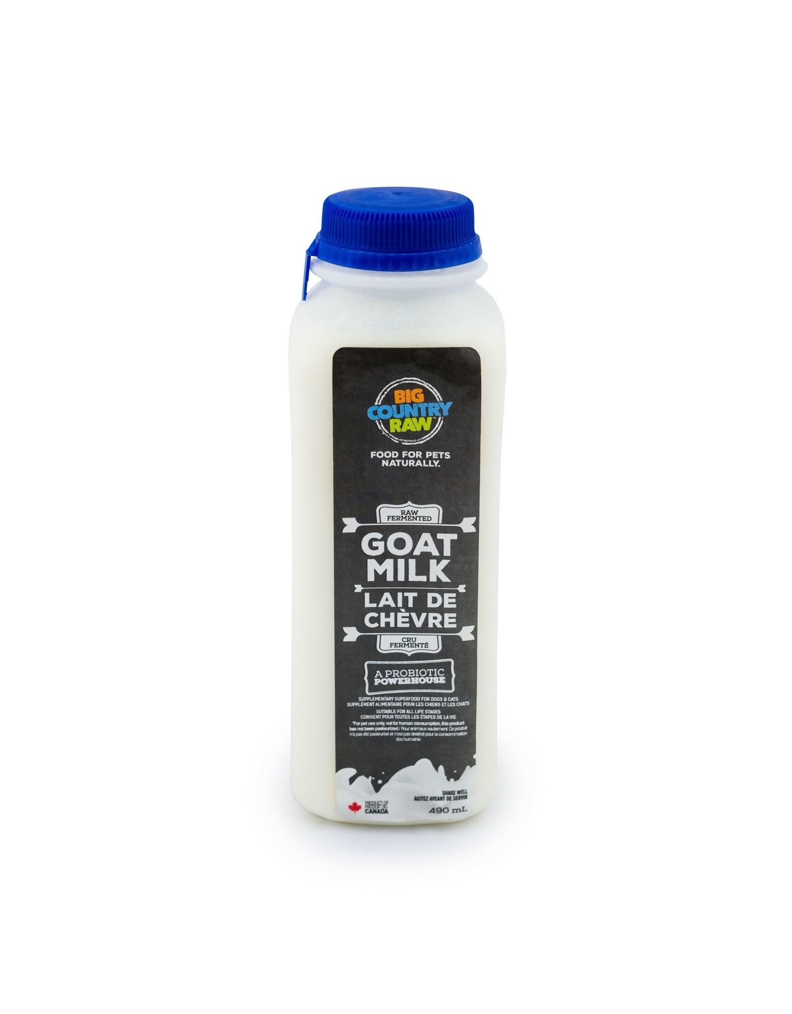 Big Country Raw BCR Raw Goat Milk 490ml