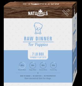 NATURAWLS Naturawls DOG - FROZEN RAW - Puppy Formula 7lbs