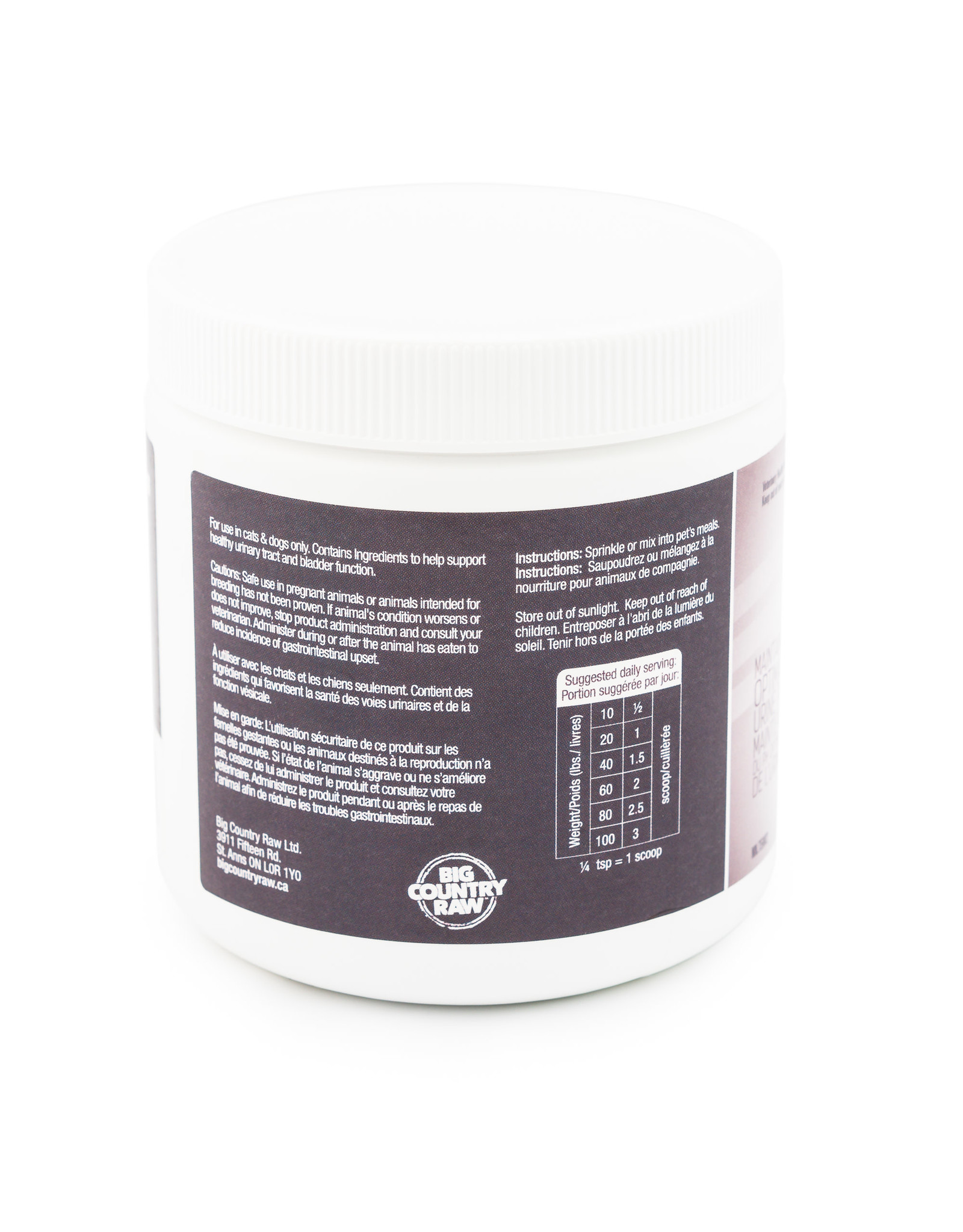 Big Country Raw BCR Thrive Bladder Support 135g