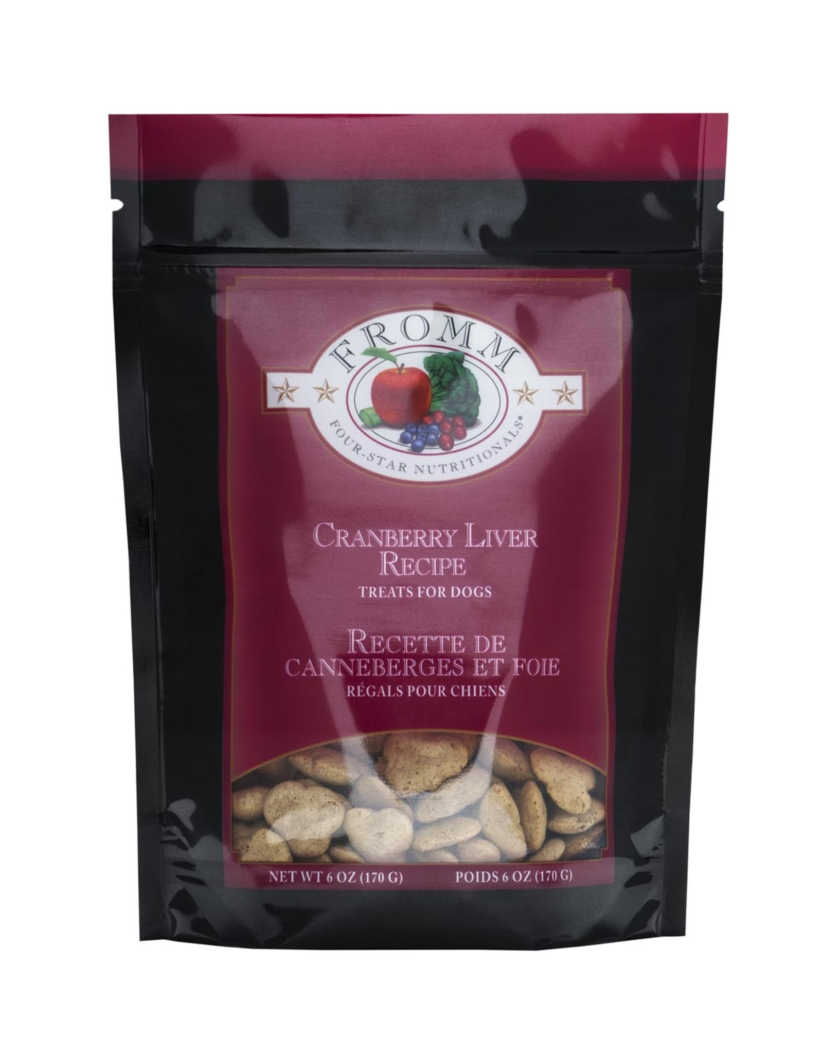 FROMM FROMM Cran-Liver Treats for Dogs 170g