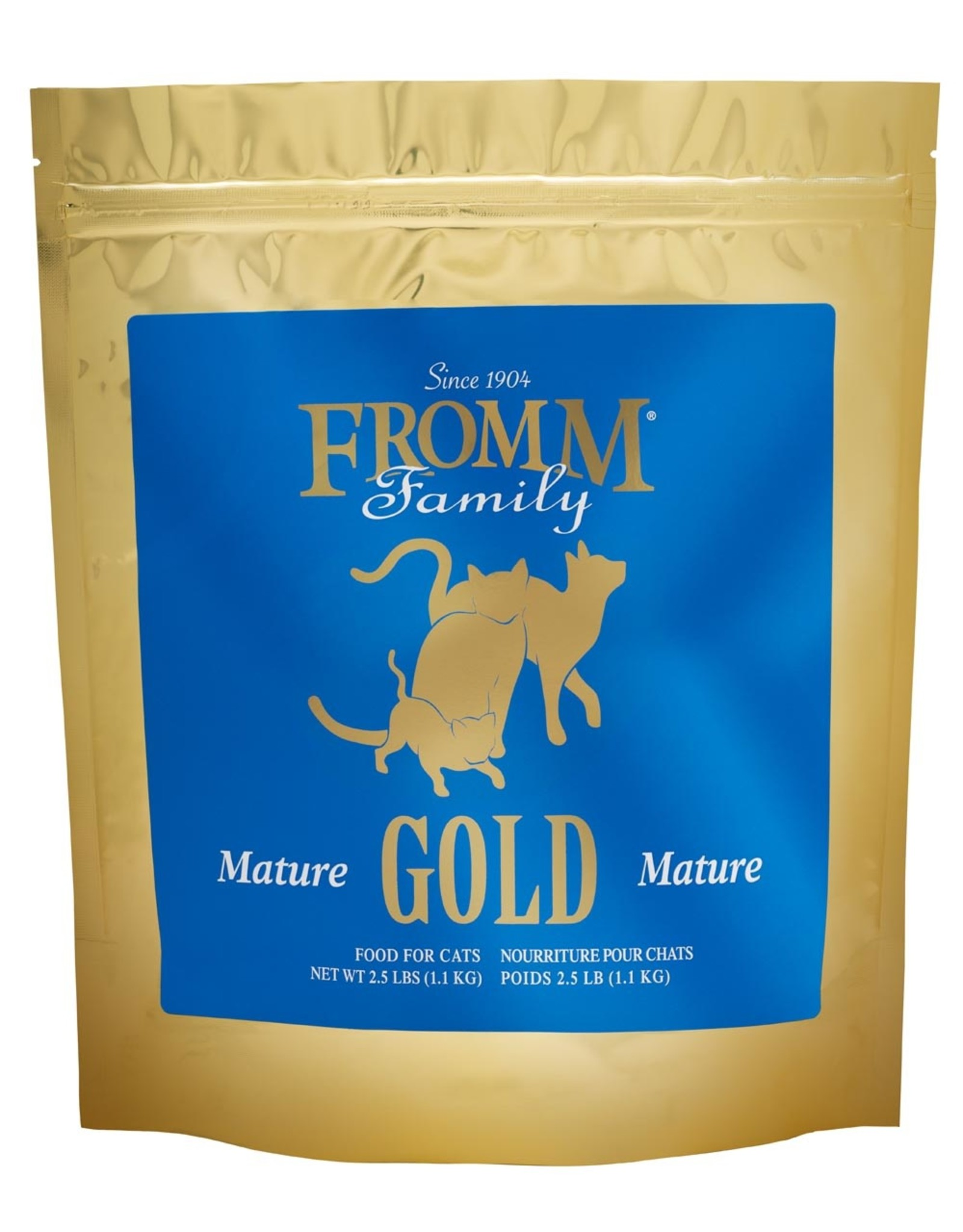 FROMM FROMM GOLD Cat Mature 2.5lb