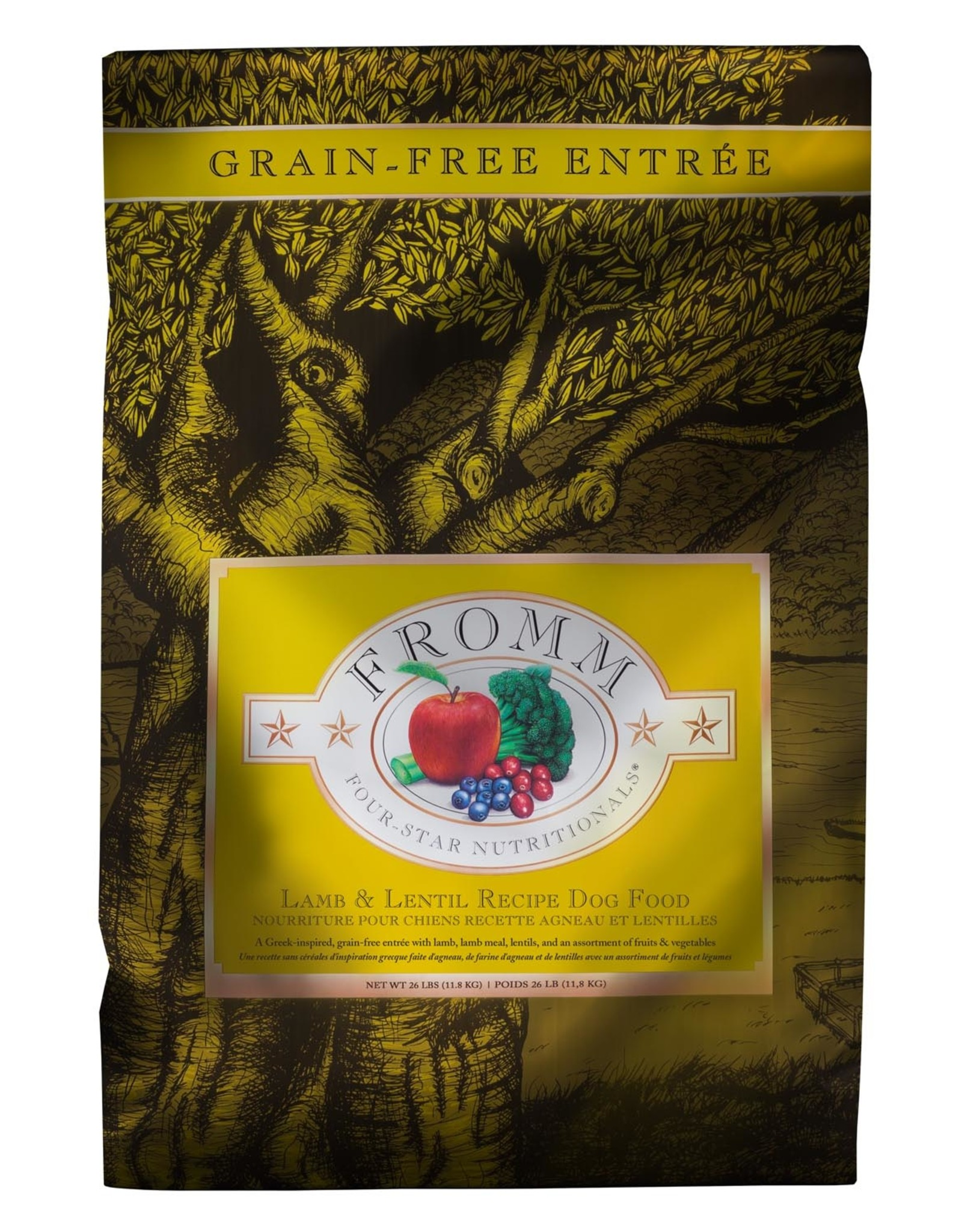 FROMM FROMM GF Lamb & Lentil for Dogs 11.8kg