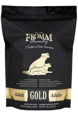 FROMM FROMM GOLD Dog Adult 5lb (black)