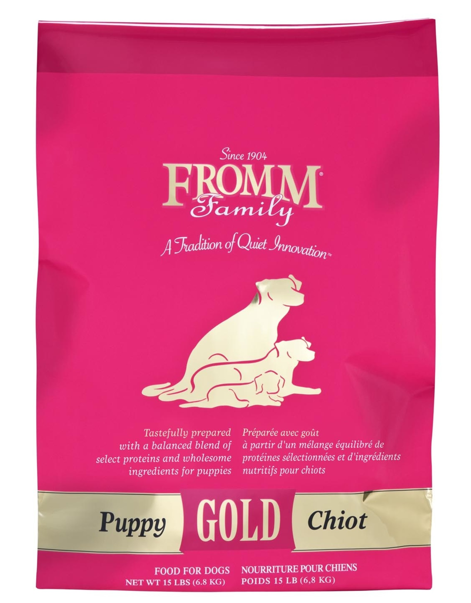 FROMM FROMM GOLD Puppy 15lb (pink)