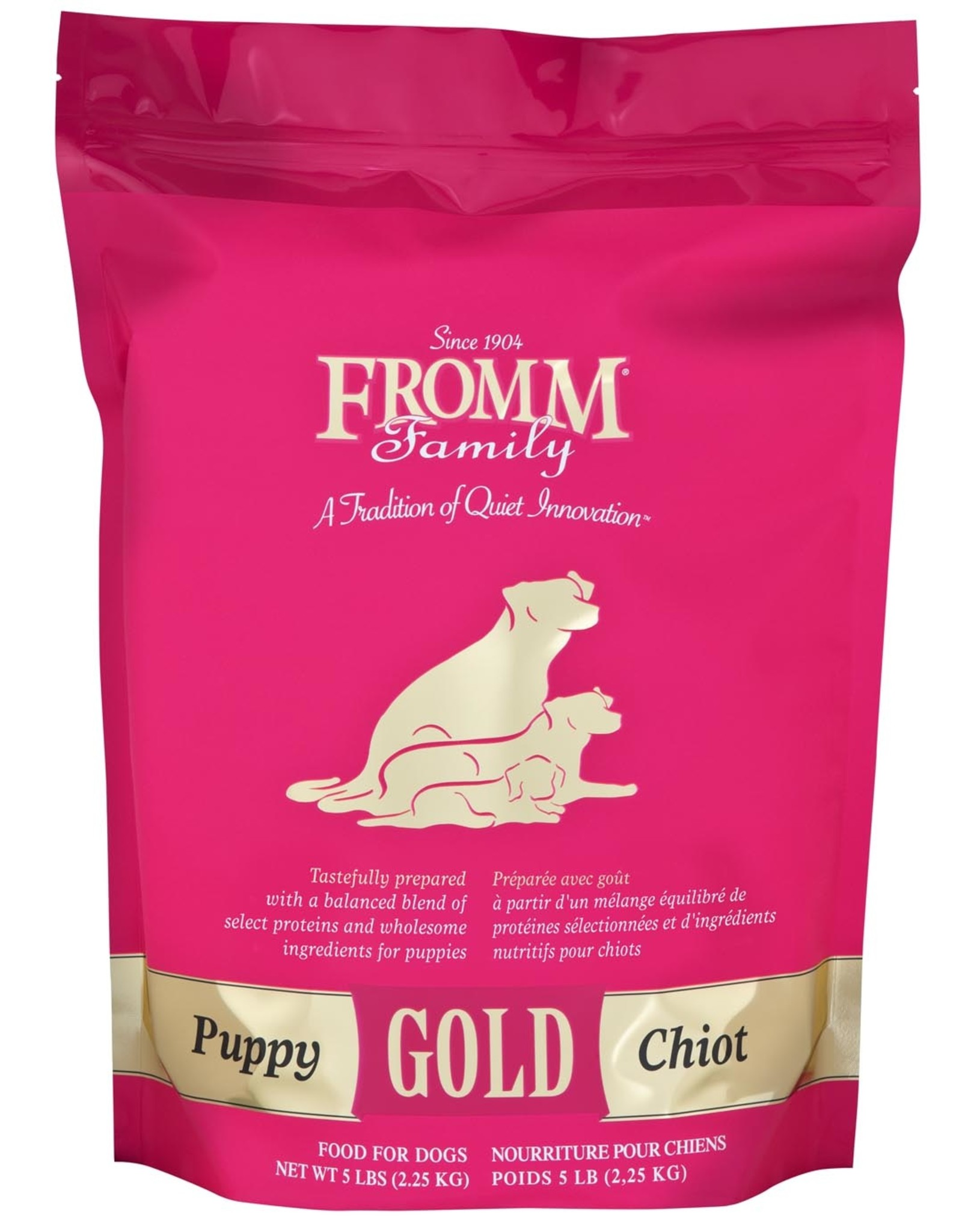 FROMM FROMM GOLD Puppy 5lb (pink)