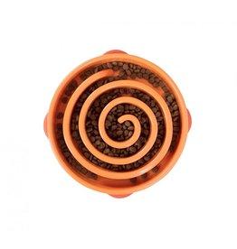 Kyjen/OutwardHound OutwardHouund Fun Feeder BOWL Large Orange
