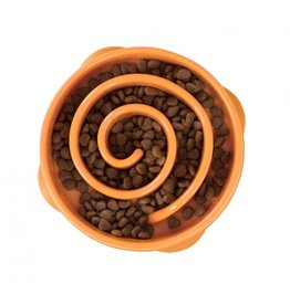 Kyjen/OutwardHound OutwardHouund Fun Feeder BOWL Mini Orange
