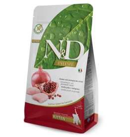 NAtural&Delicious N&D CAT Chicken & Pomegranite KITTEN 3.3lb
