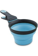 Dexas Dexas Collapsible Klip Scoop Blue 2cup