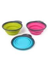 Dexas Dexas Collapsible Travel 2 Cups Fuchsia