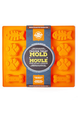 BCR BCR Frozen Treat Mold - orange large