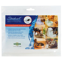 PetSafe PETSAFE Drinkwell Original/Plantinum Fountain Filter 3pk