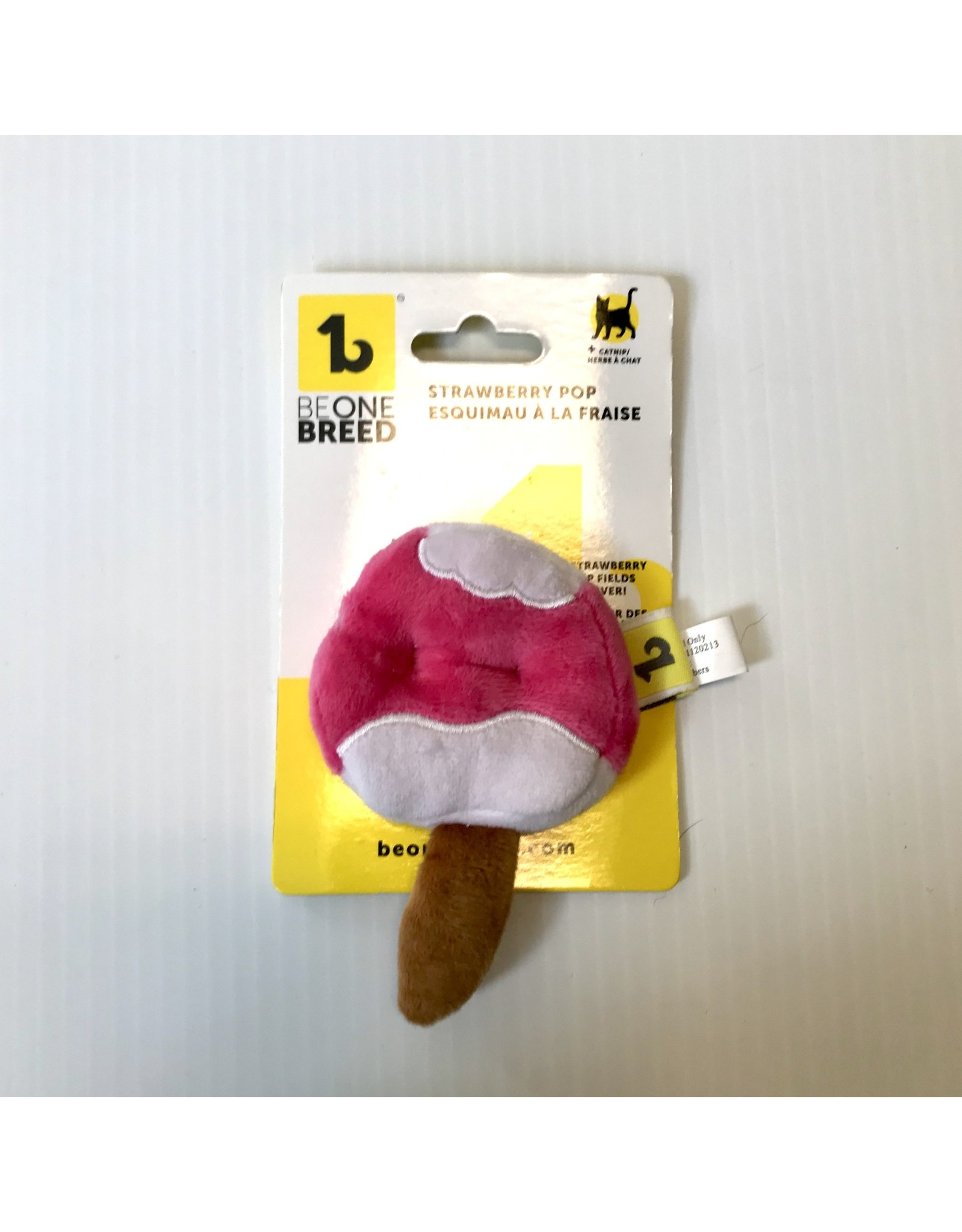BeOneBreed BeOneBreed Cat Toy - Strawberry Pop