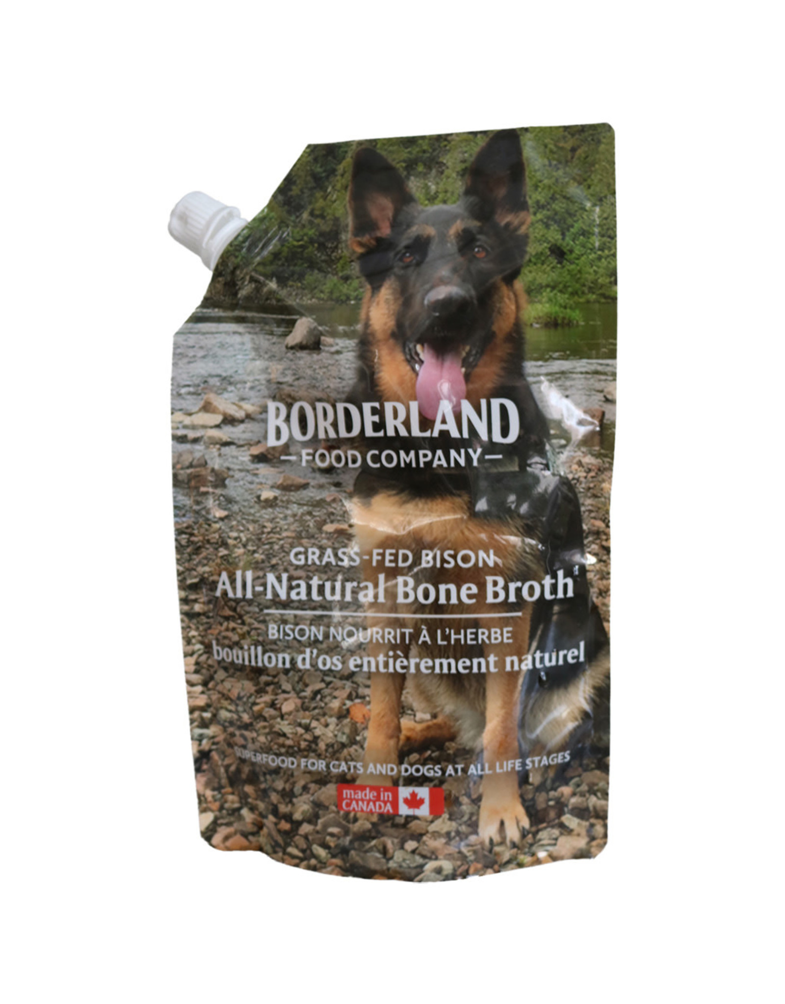 Borderland Borderland - Grass-fed Bison Bone Broth 591ml