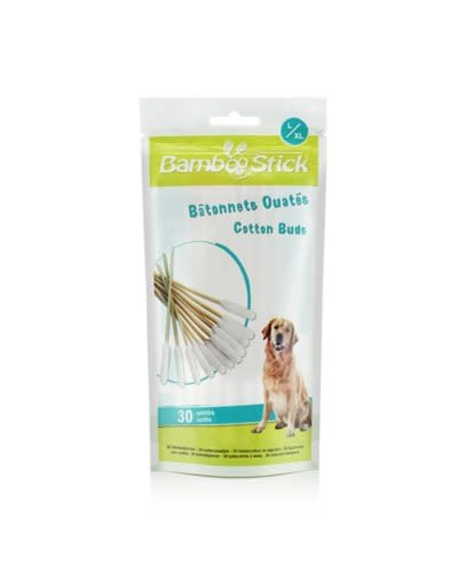 TickTwister BambooStick Cotton Buds Lg/XLg 30pk