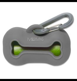 MessyMutts MessyMutts - Waste Bag Holder - Grey