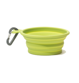 MessyMutts MessyMutts - Silicone Collapsible Bowl - 3cup - Green