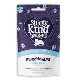 SimplyKindHearted SimplyKindHearted - CAT - Munchables 40g - w. Milk
