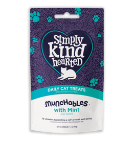 SimplyKindHearted SimplyKindHearted - CAT - Munchables 40g - w. Mint