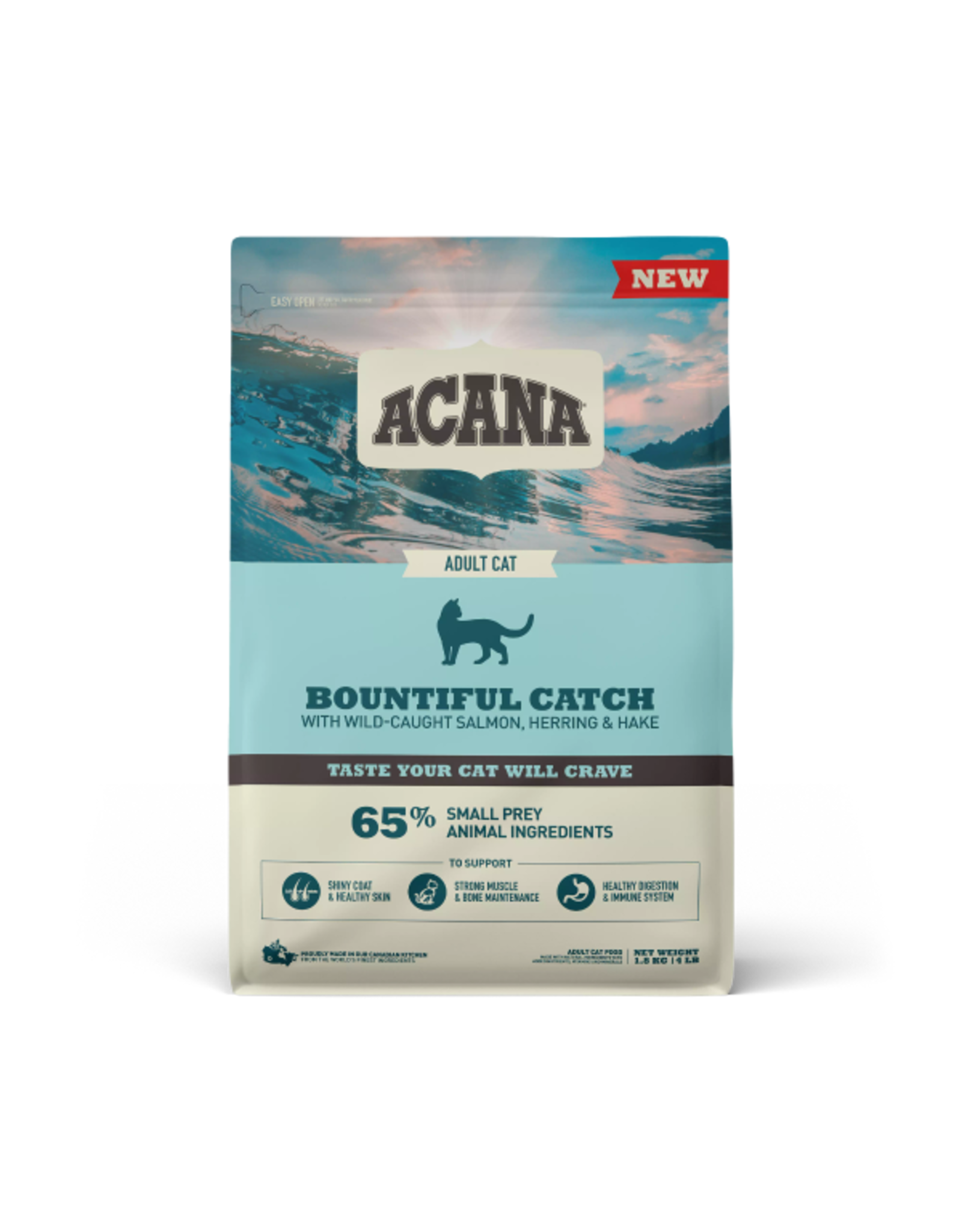 ACANA Acana CAT Premium - Bountiful Catch 1.8kg