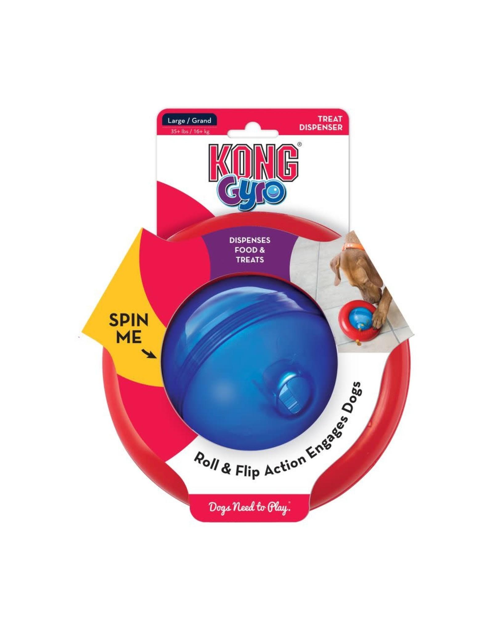 KONG KONG - Interactive - Gyro Food/Treat Dispenser L
