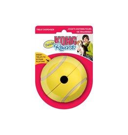 KONG KONG - Interactive - Rewards Tennis Ball Treat Dispenser L