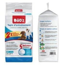 BUDZ BUDZ Training Puppy Pad 22in - 50pk