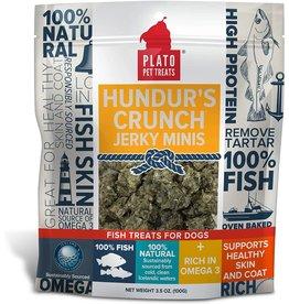 PLATO PLATO Hundur's Crunch Jerky Mini's 100g