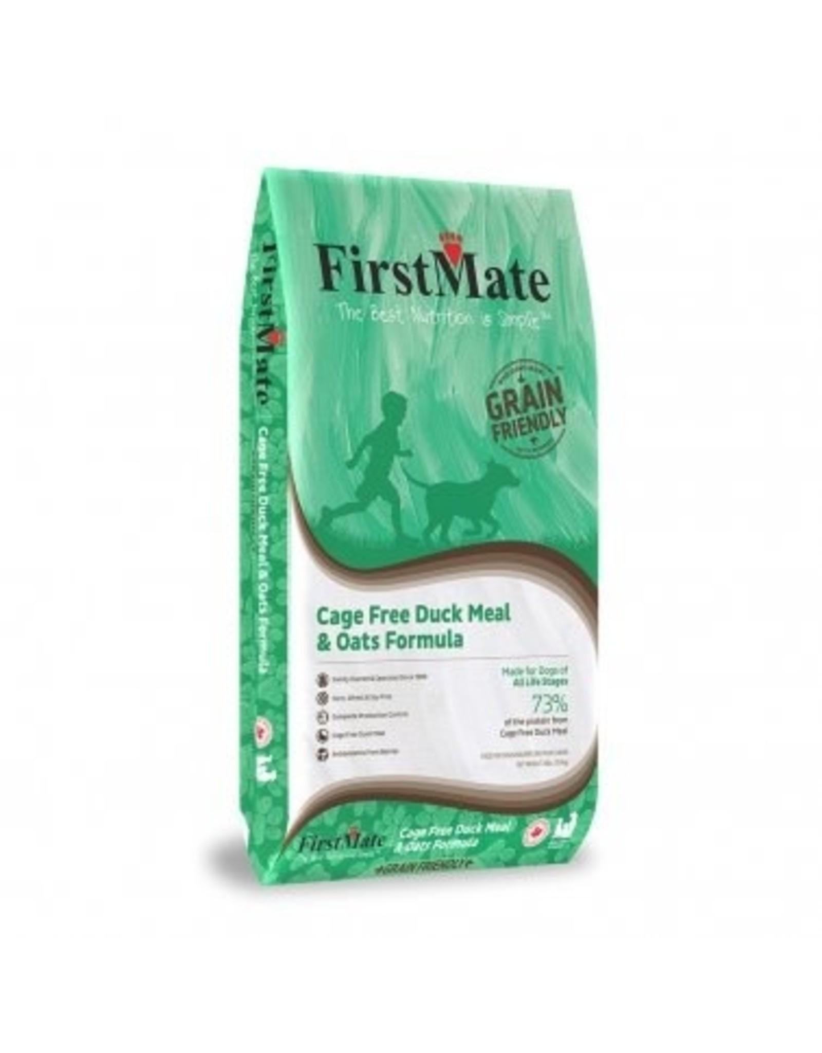 FirstMate FirstMate GrainFriendly DOG 11kg - Duck + Oats