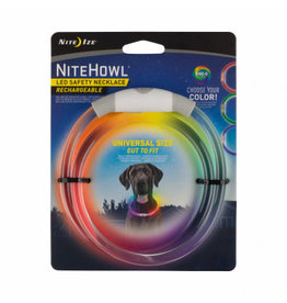 NITEIZE NITEIZE Nite Howl RECHARGEABLE & SELECTABLE Colour LED Safety Necklace