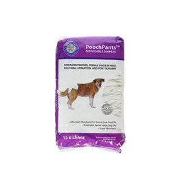 POOCH PAD PP - PoochPant *disposable Diaper - XS 12pk