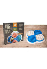 Big Country Raw BCR *Lick Tray - Blue + White