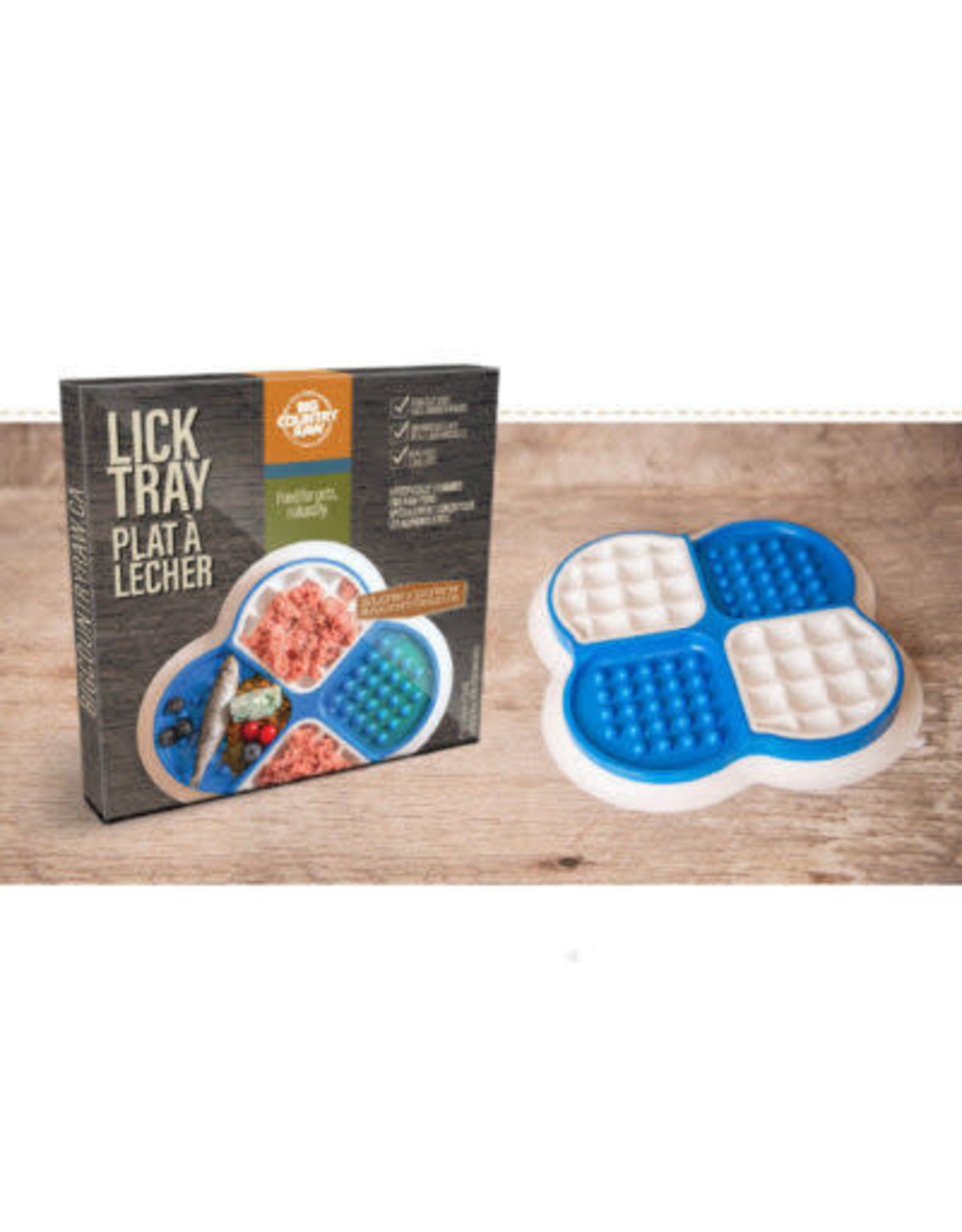 BCR BCR *Lick Tray - Blue + White