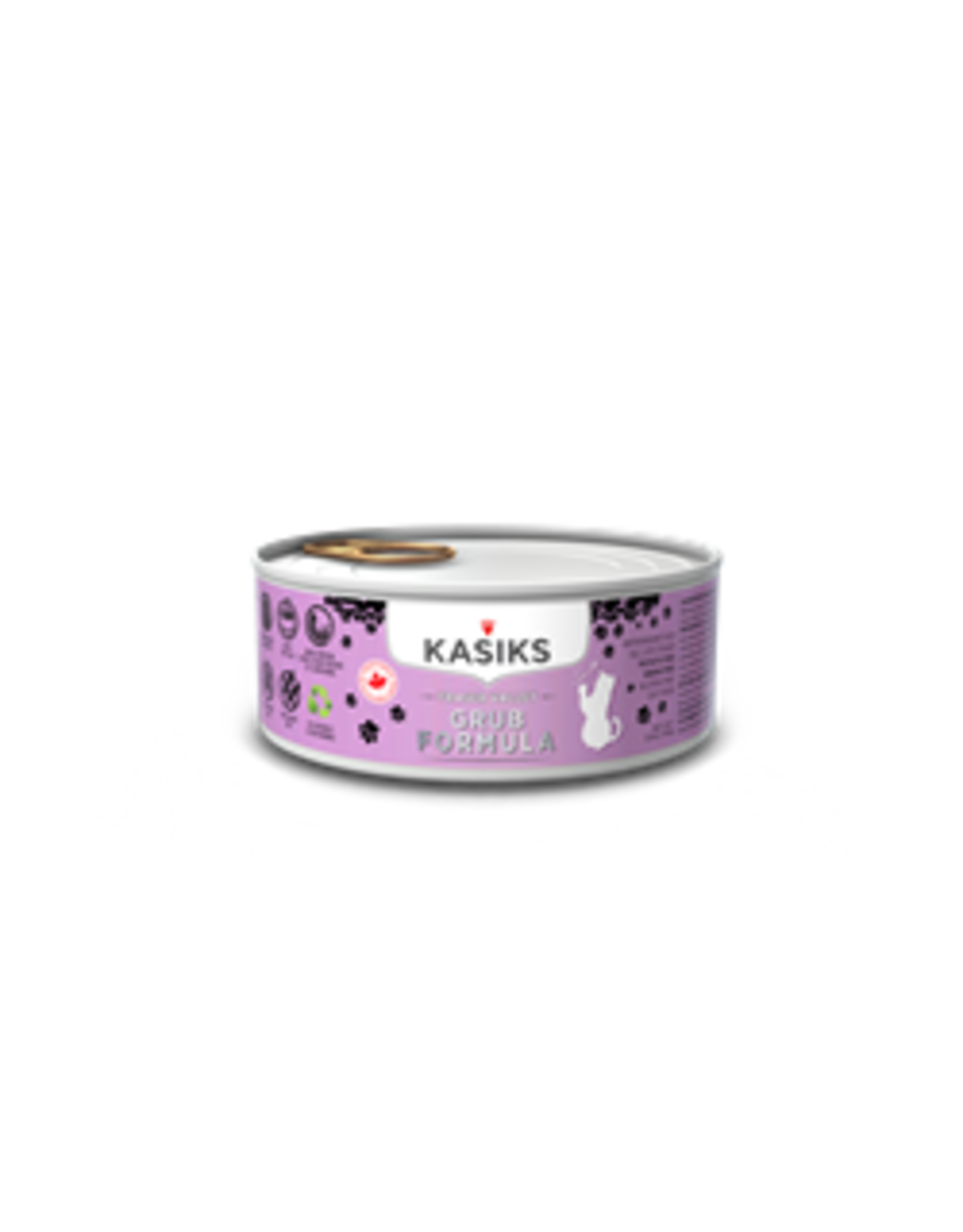 Kasiks Kasiks - CAT - Grain Free FraserValley Grub Can 156g