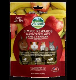 OXBOW Oxbow SimpleRewards Baked Treats Apple & Banana 2oz