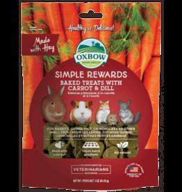 OXBOW Oxbow SimpleRewards Baked Treats Carrot & Dill 2oz